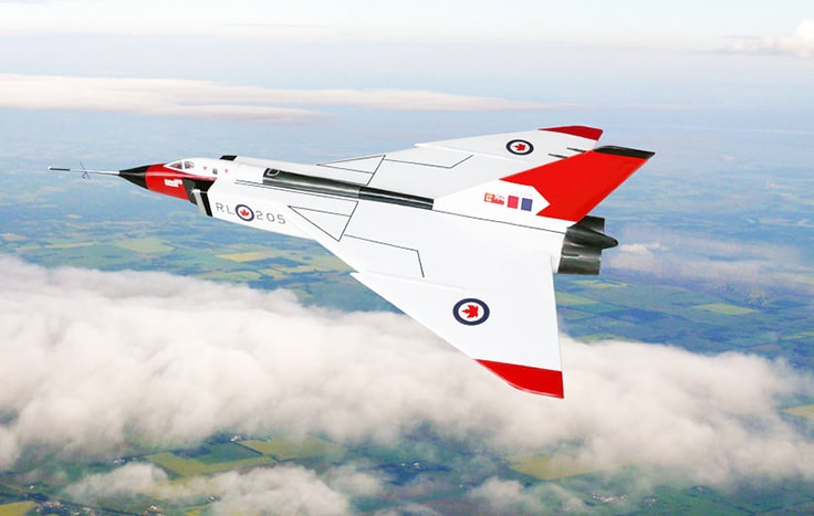 Canada-Avro_Arrow-Technology most technologically advanced countries
