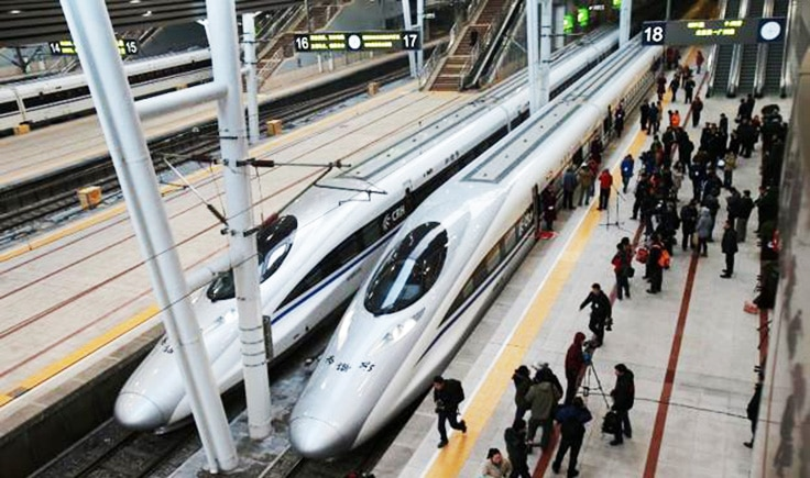 most technologically advanced countries China subways with crowd of people
