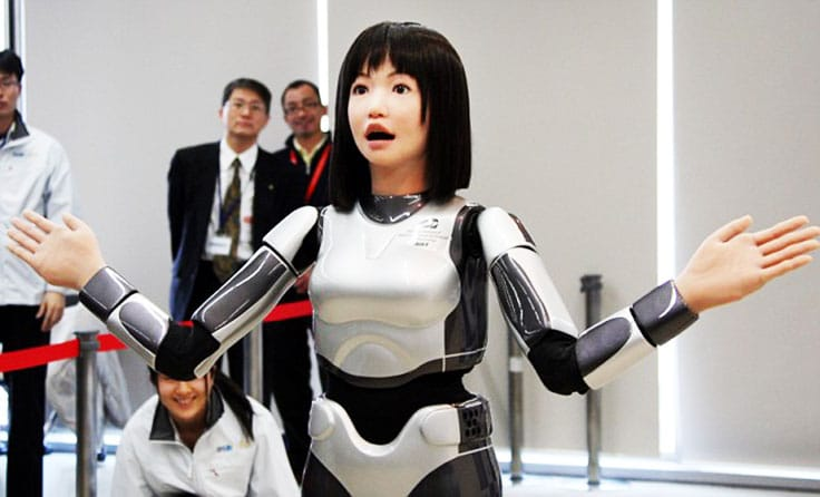 Japan-Fashion-Robot most technologically advanced countries