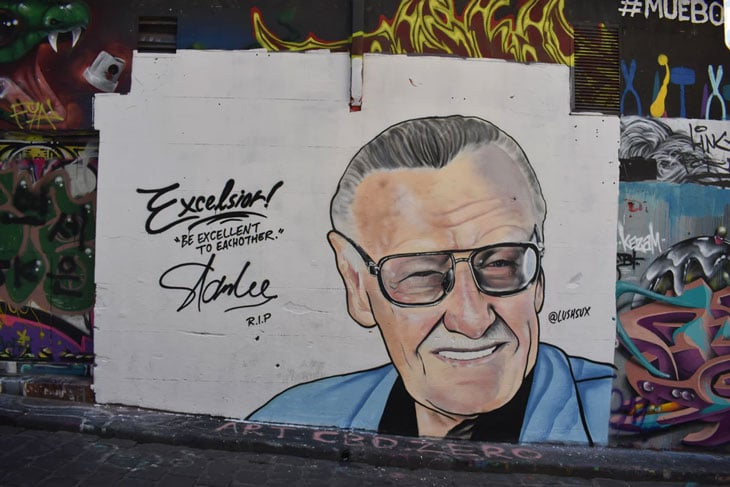 Eyeglass stan lee