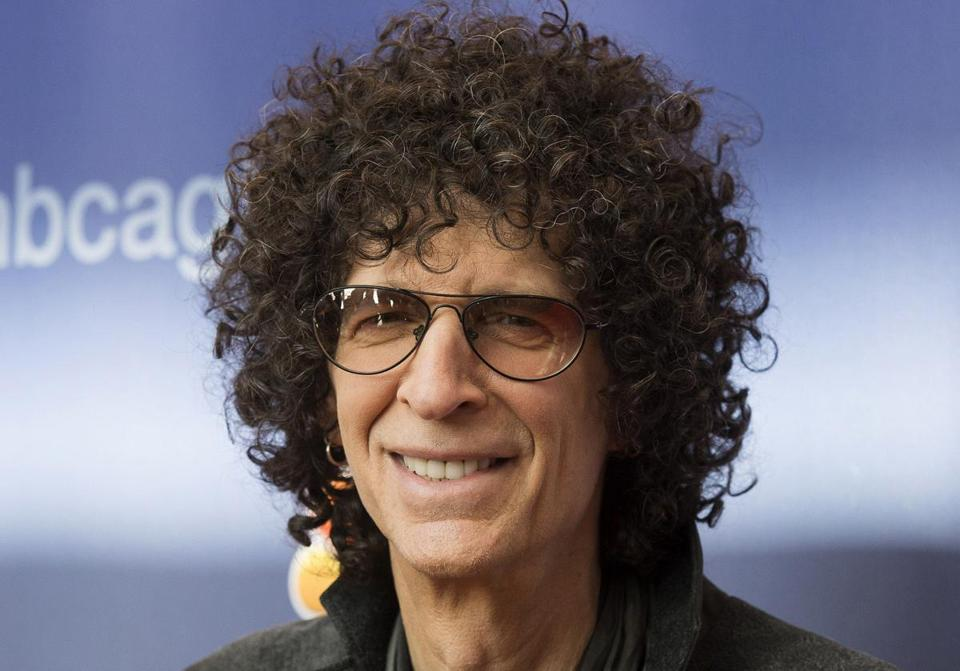 Howard Stern in Curly Hair