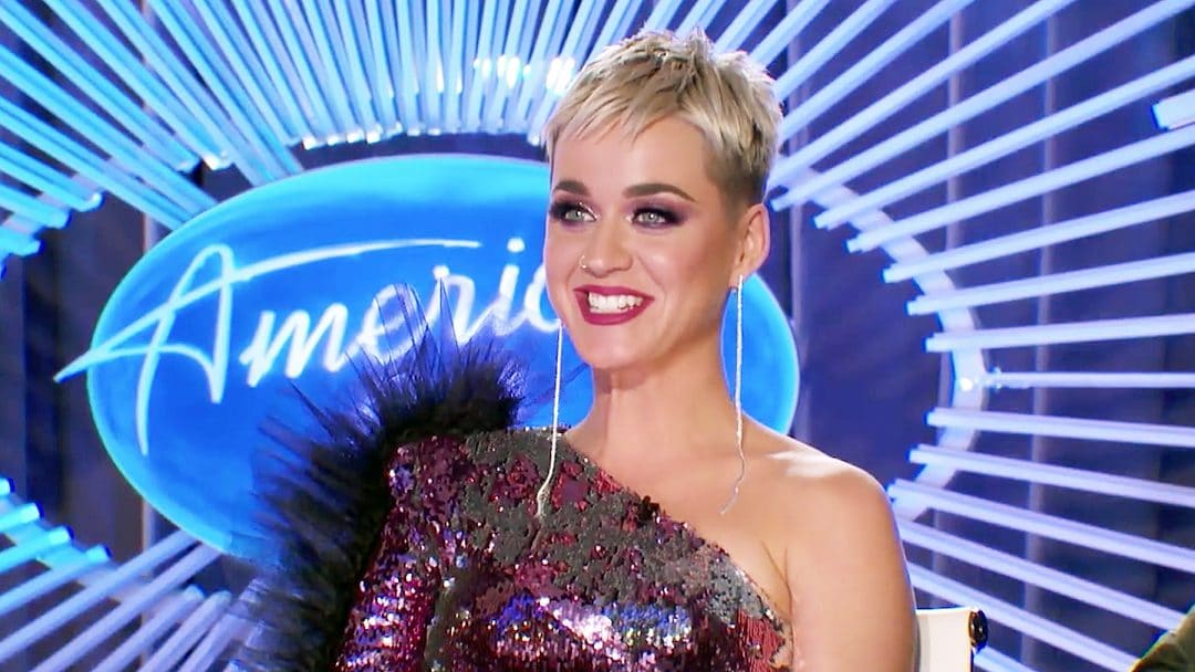 Katry Perry on American Idol