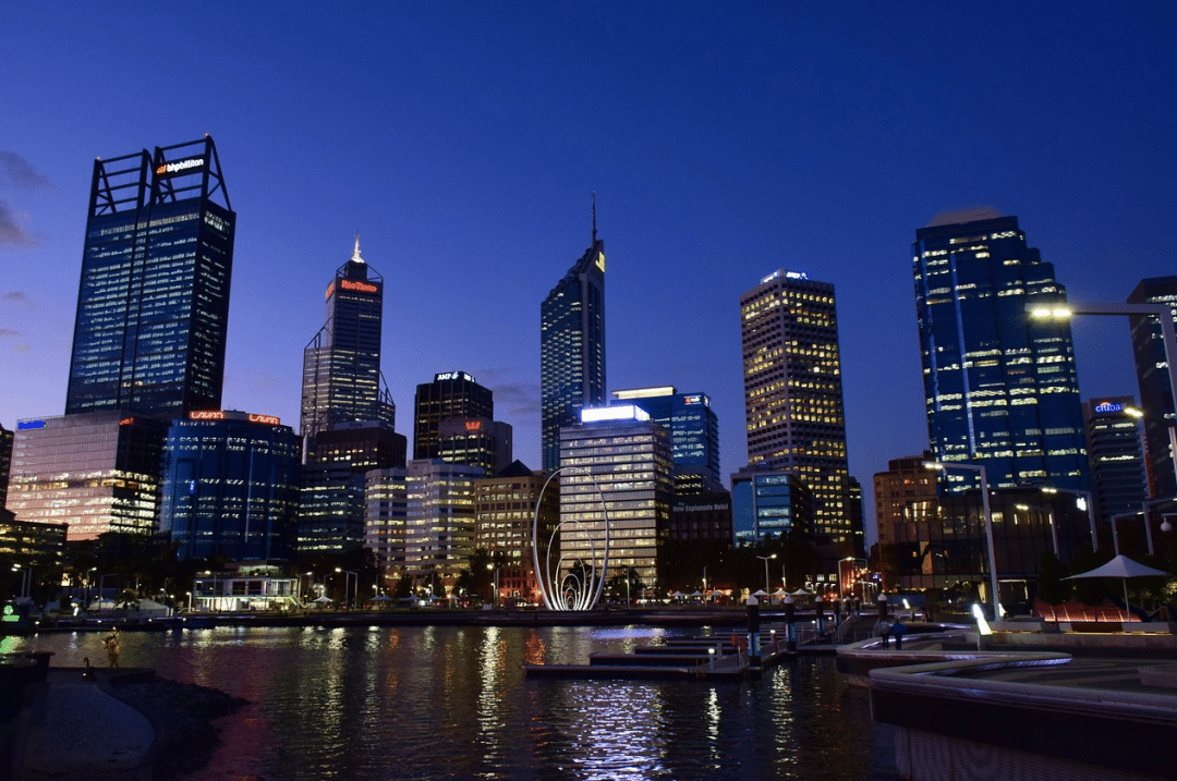 best countries to move to - Perth City Australia Western Australia