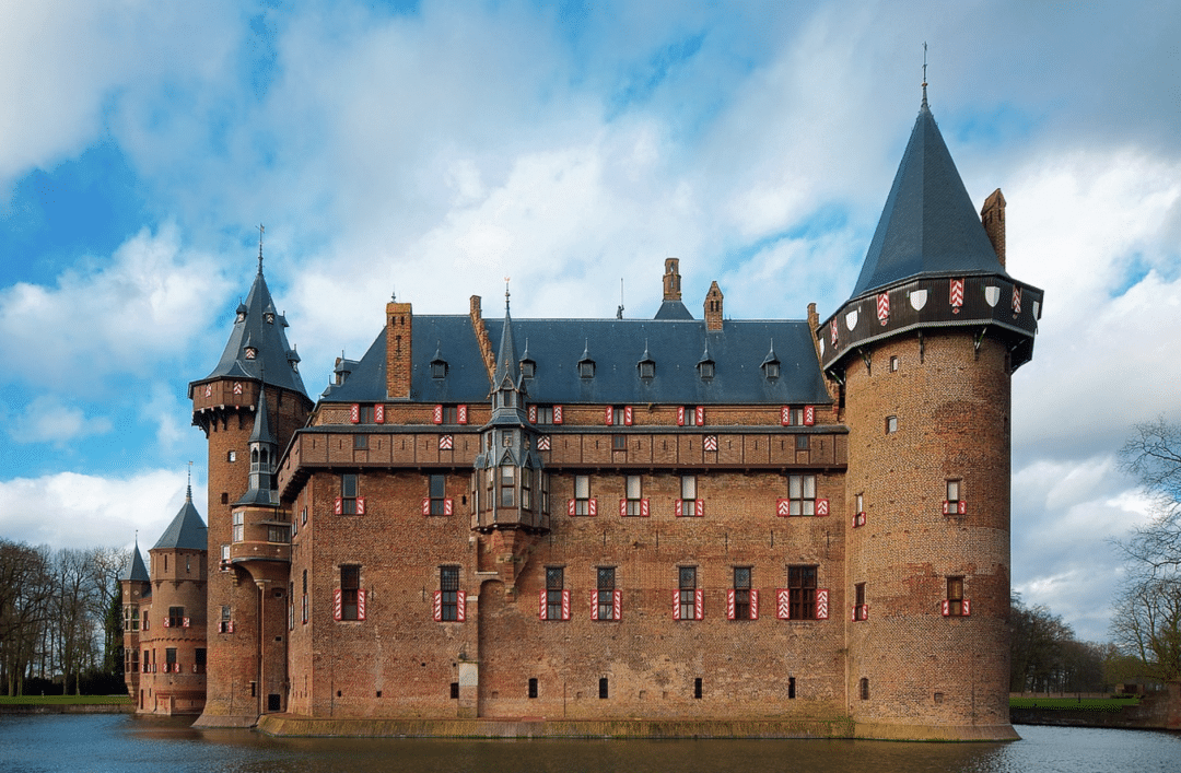 best countries to move to- Castle De Haar of The Netherlands view of  Fortress